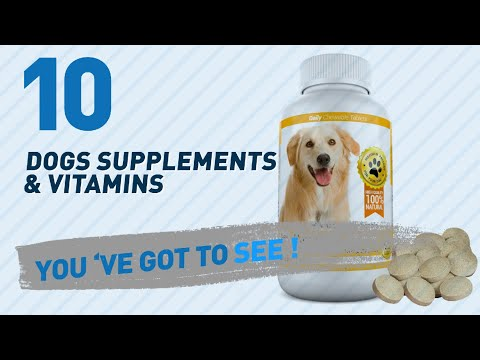 Top 10 Dogs Supplements & Vitamins Products // Pets Lover Channel