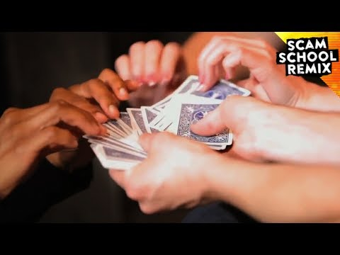 Fitch Cheney's Five Card Trick