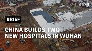 China virus: Workers build new hospital in Wuhan | AFP
