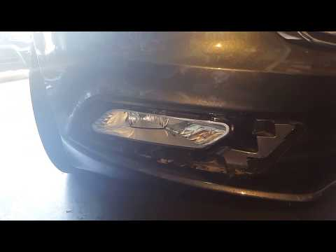 How to replace the fog light bulb on a 2017 ford fusion