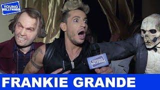 Frankie Grande: Terrifed at Halloween Horror Nights!