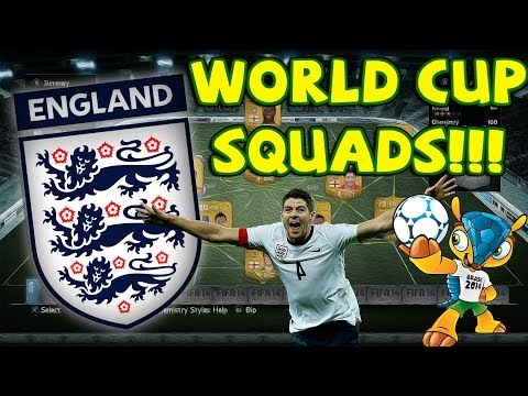 FIFA 14 Ultimate Team - ENGLAND WORLD CUP SQUAD