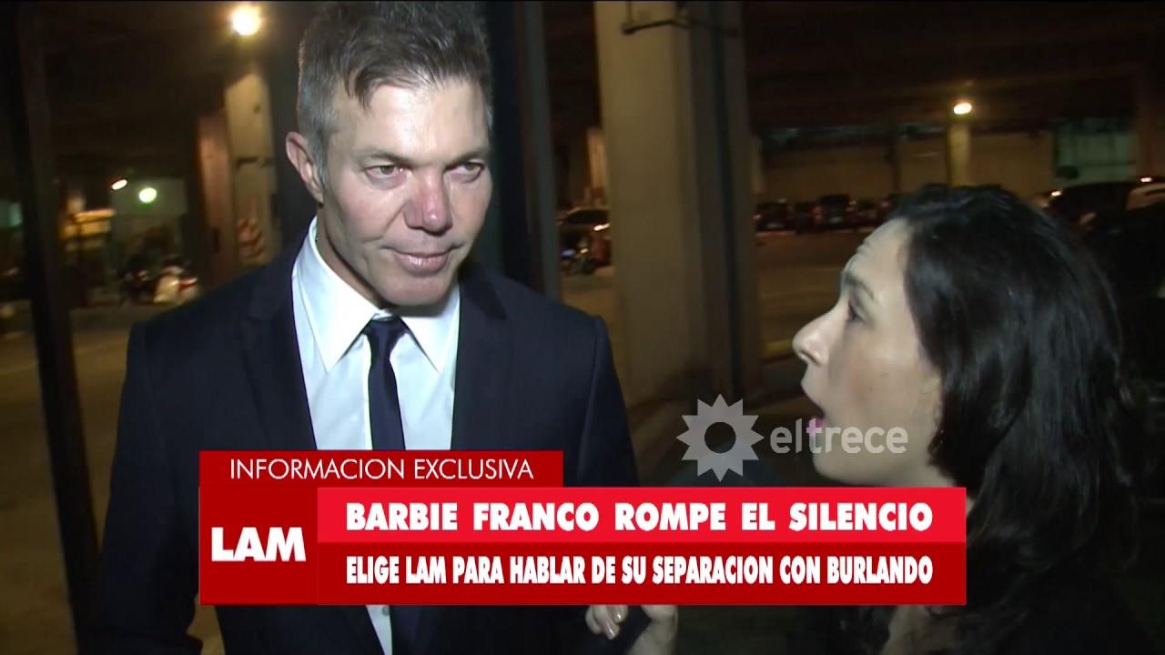 Fernando Burlando habló sobre Barby y dijo que ya no hay retorno en la relación