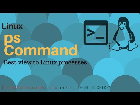 ps command in linux to view all processes