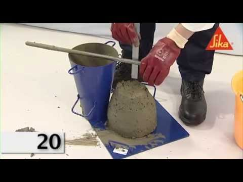 01- Slump Test (Fresh Concrete)