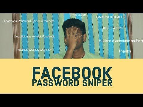 FACEBOOK PASSWORD SNIPER!
