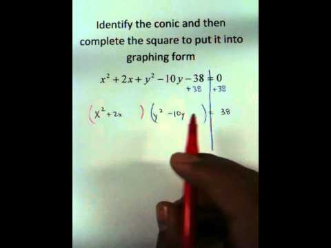 Moya Math Algebra 2 (Completing the Square with Circles).MOV