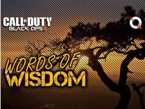 Words of Wisdom (Game Changer Black Ops 2 Gameplay)