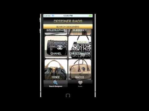DESIGNER HANDBAGS; The App