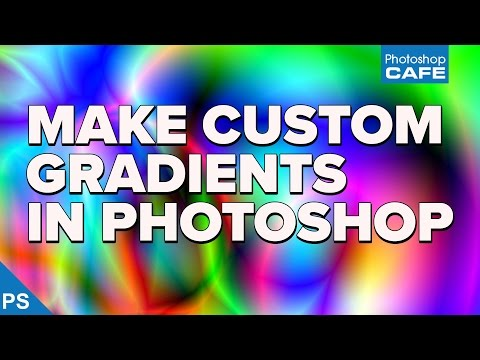 How to make CUSTOM GRADIENT in Photoshop. And Gradient tool TIPS to blow your mind.