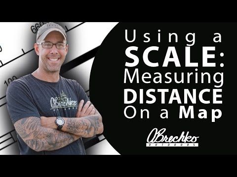 Basic Map Reading: Using a Scale to Measure Distance on a Map