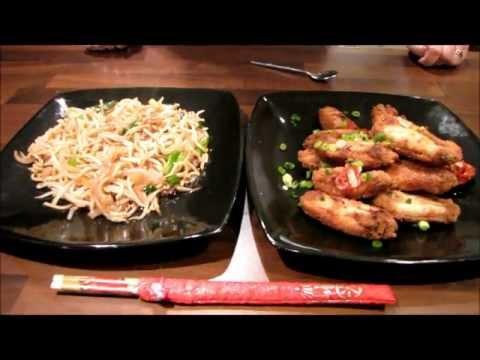 Samantha's Supper Episode 5 - Salt n Chilli Chicken Wings & Chow Mein Noodles