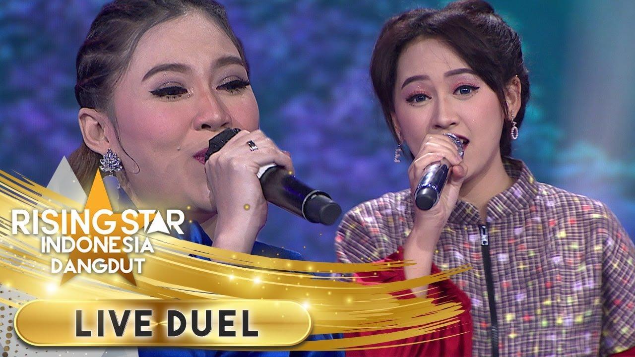 Download Nella Kharisma Feat Happy Asmara [NINGGAL TATU]   Live Duel   Rising Star Indonesia MP3 Gratis