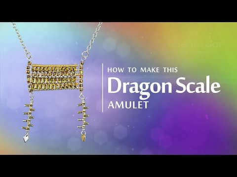 How to make this Dragon® Scale Amulet