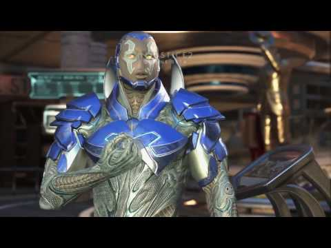 Injustice 2 - Blue Beetle ALL BETA - Dialog, Character Interactions, Clash's, Super