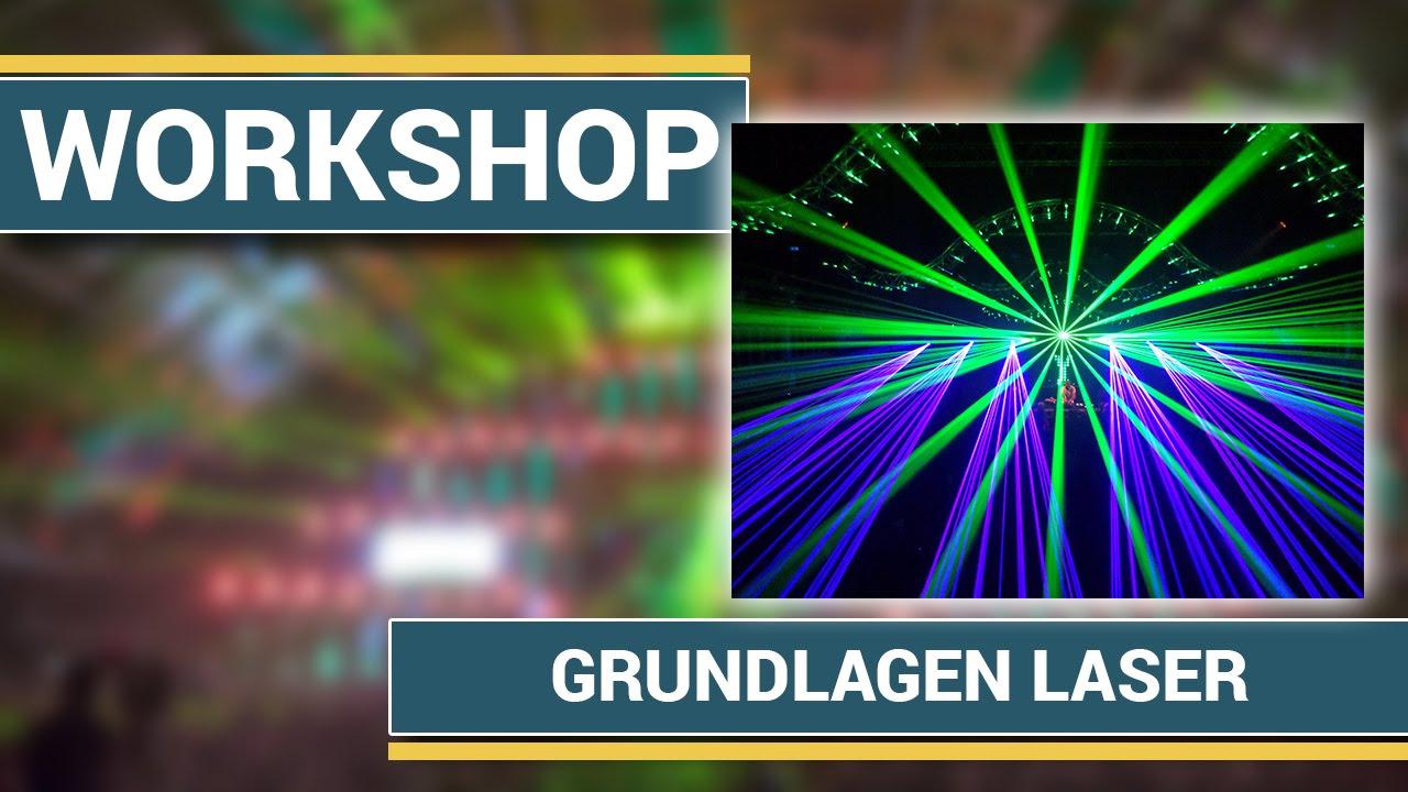 Grundlagen Workshop zum Thema Laser
