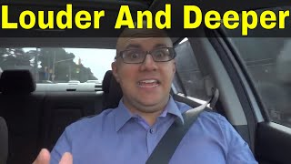 How To Speak Louder And Deeper-Easy Way To Do It