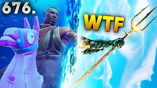 Fortnite Funny WTF Fails and Daily Best Moments Ep.676