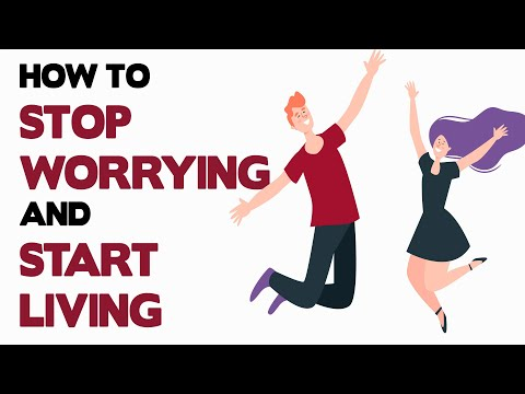 HOW TO STOP WORRYING AND START LIVING BY DALE CARNEGIE - ANIMATED BOOK REVIEW