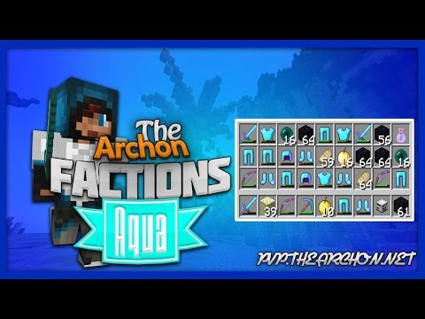 The Archon Aqua Factions Episode 3: AWESOME PVP FIGHTS AT WARP END?!