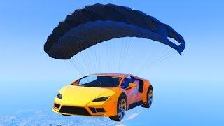 GTA 5 NEW DLC PARACHUTE CARS CONCEPTS! PARACHUTE RAMP CAR, TEMPESTA & MORE! (GTA 5 DLC Cars Concept)
