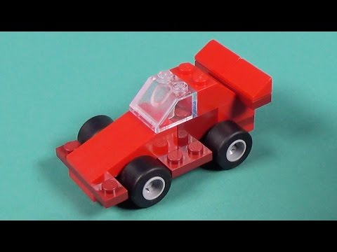 Lego Mini Race Car Building Instructions - Lego Classic 10692