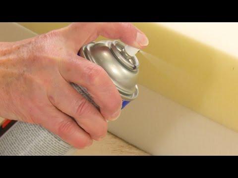 Gluing Foam with Foam Lock Spray Adhesive