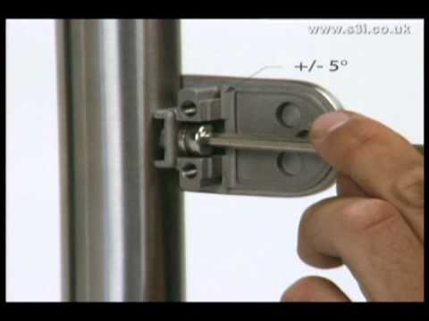 Glass Clamp Installation - Stainless Steel Balustrade - S3i Group