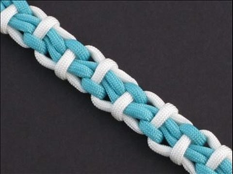 How to Make a Glerá River Bar (Paracord) Bracelet by TIAT