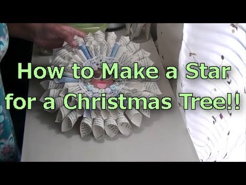 How to Make a Star for a Christmas Tree