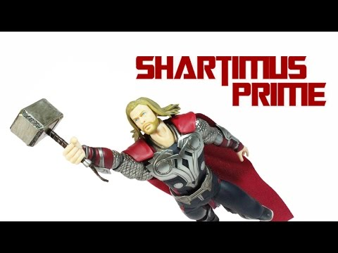 Figma Thor The Avengers Movie Max Factory Action Figure Review