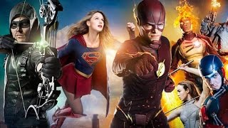Invasion The CW 4 Night Crossover Supergirl