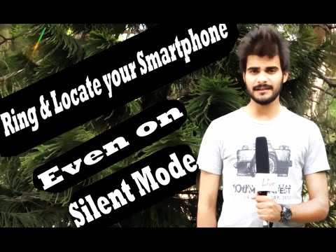 Ring & Find your Smartphone (Even on Silent/Vibrate) | Smartphone Tips & Tricks