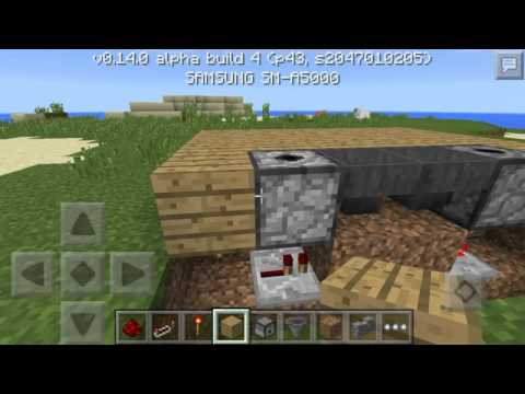 ✔How to make a redstone working fish tank ?