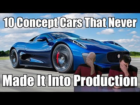 Top 10 Concept Cars Which Never Made It To Production