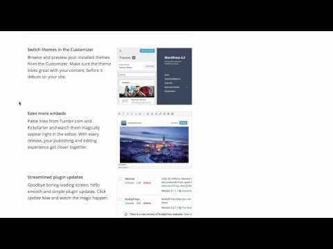 New Wordpress Version 4.2