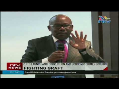 Fighting graft: CJ to launch anti corruption and economic crimes division