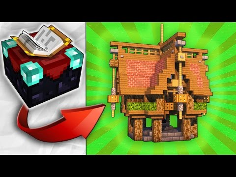 How To Transform An Enchantment Table - EASY Build!