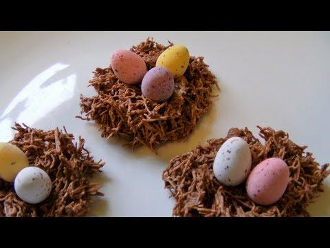 How To Make Chocolate Nest Treats