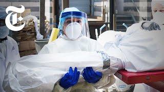 Inside Two N.Y.C. Morgues Overwhelmed With Coronavirus   Coronavirus News