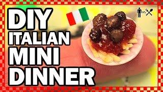 diy mini dinner man vs din