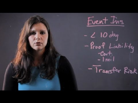 What Is Event Insurance? : Personal & Health Insurance Tips