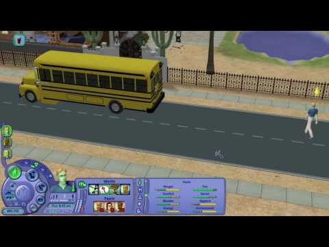 Let's Play The Sims 2 Scholarship Challenge Part 19 (Abduction and Skills Part 1 of 3)