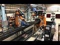 WAAM of titanium + robotic peening