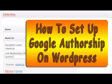 How To Set Up Google Authorship On A Wordpress Blog Without A Plugin