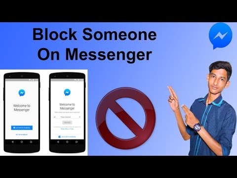 How to Block Messages & Calls On messenger Or Facebook [ Block Someone ]