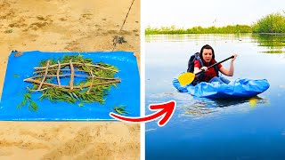 33 CAMPING IDEAS to help in your vacations everywhere by 5-minute crafts MEN