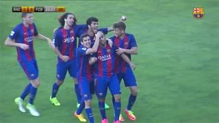 Racing de Santander vs FC Barcelona B [1-4][Fase de Ascenso a 2ª | Final][18/06/2017]