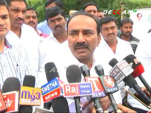 Minister Eetela Performed Bhumi Pooja for Drinking water scheme | Karimnagar | DECCAN TV