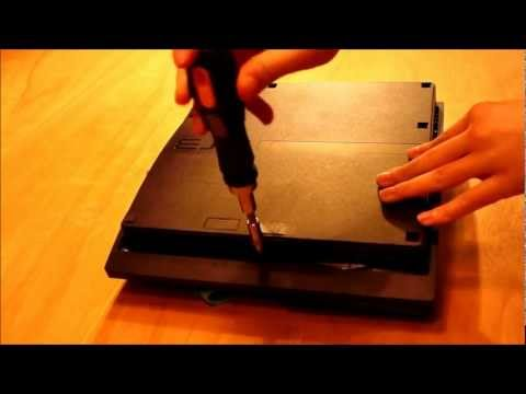 How To Replace Bluray Laser On PS3 Slim Part:1